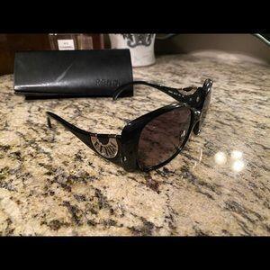 Used Fendi sunglasses with case.
